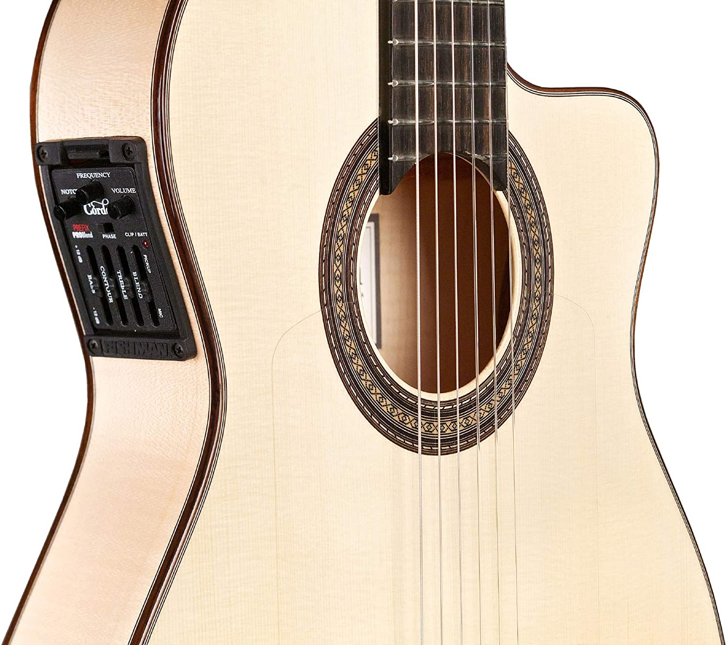 Cordoba 55 FCE acoustic-electric ultrafina. Flamenco Guitarra ...