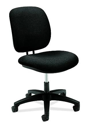 desk swivel chair. HON ComforTask Task Chair - Swivel Computer For Office Desk, Black (H5901) Desk