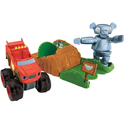 Fisher-Price Nickelodeon Blaze & the Monster Machines, Launch & Go Forest Adventure: Toys & Games