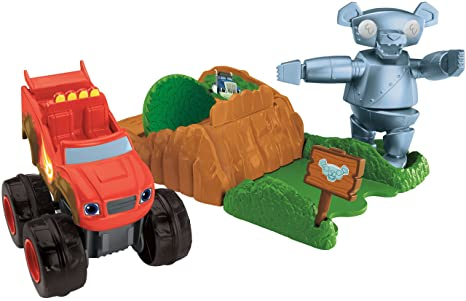 Fisher Price Nickelodeon Blaze The Monster Machines Launch Go Forest Adventure