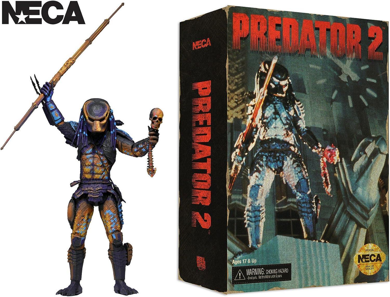 NECA Predator 2 Sciamano Predator//CINGHIALE Predator//City Hunter PVC Action Figure