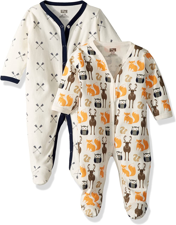 Hudson Baby Baby Cotton Sleep and Play