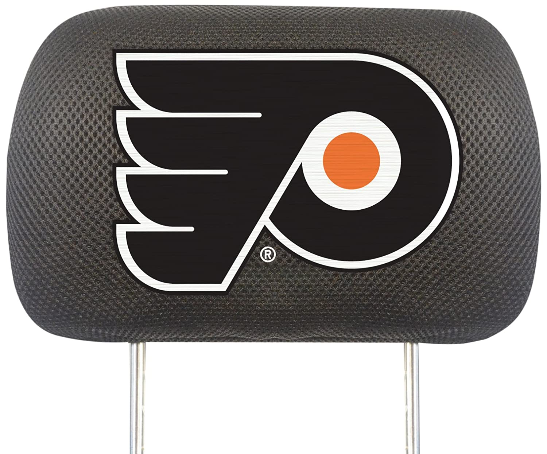FANMATS NHL Philadelphia Flyers Polyester Head Rest Cover 14782