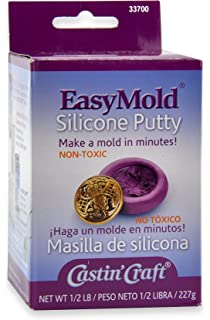 Environmental Technology 1/2-Pound Kit Casting Craft Easymold Silicone Putty