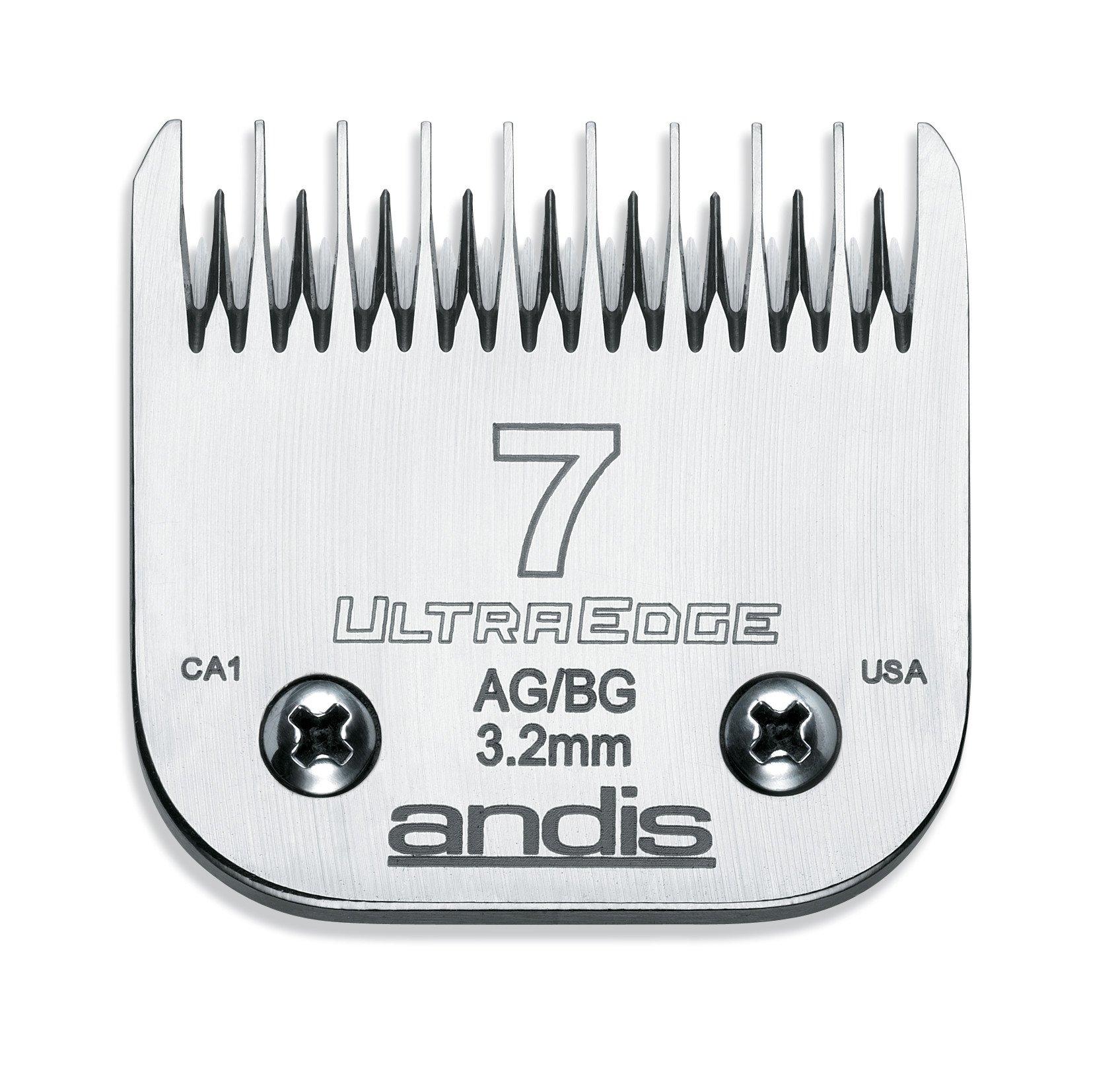 Cuchillas : Andis 7 Ultra Edge 802128 Reemplazo