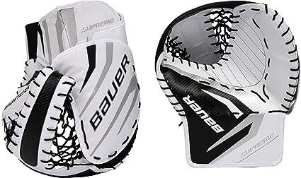 Amazon Com Bauer Senior Pro Series Street Hockey Goalie Trapper