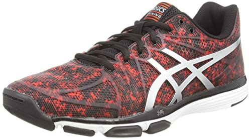 ASICS Gel-Exert Tr, Men's Running Shoes, Red (Cherry Tomato/Silver