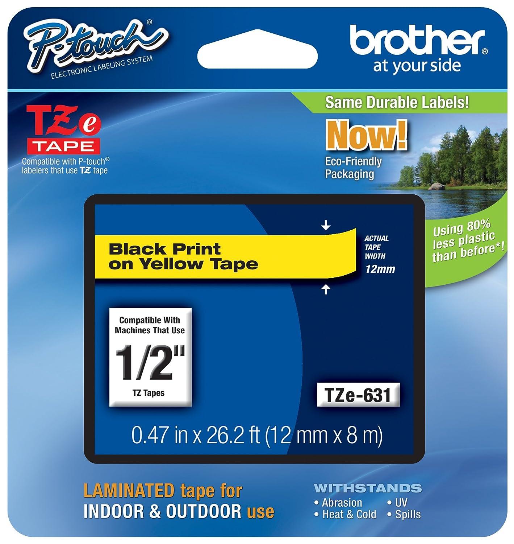 Amazon Brother Genuine P Touch Tze 631 Tape 12 047