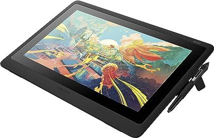 Wacom Cintiq 16 Kreativ Stift Display Tablet Zum Skizzieren Illustrieren Und Zeichnen Direkt Auf Dem Bildschirm Mit Full Hd Display 1 920 X