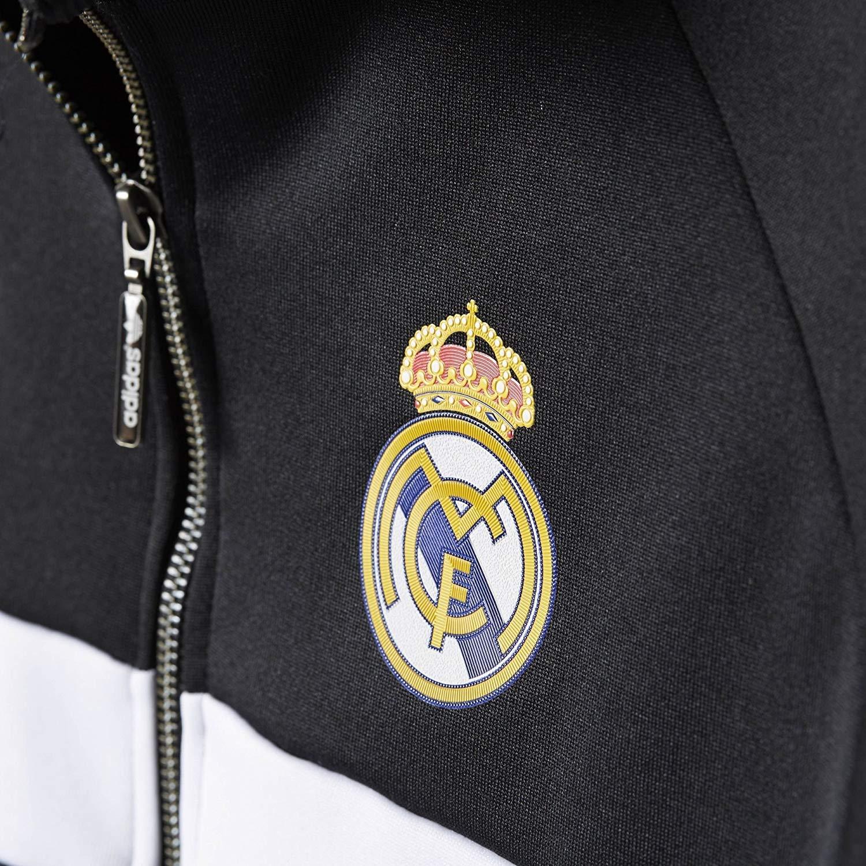 Amazon.com: adidas Originals chamarra Real Madrid Fútbol ...