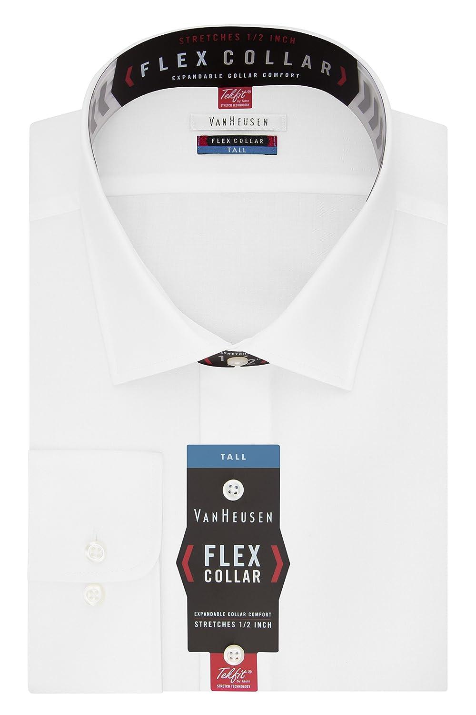 Van Heusen Men's Big Dress Shirts Tall Fit Flex Solid by Van+Heusen