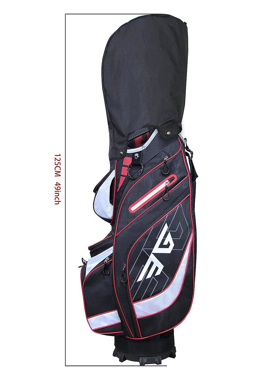 Amazon.com: Eagole bolsa de golf superliviana, divisor con ...