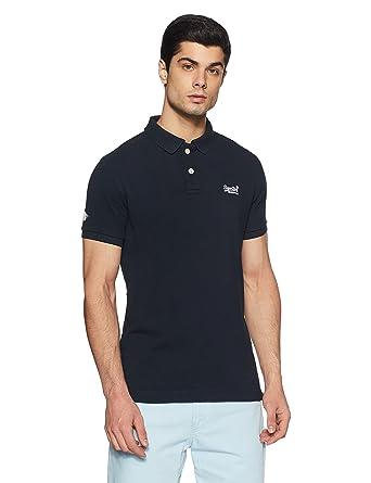 4c2a7d0ee Superdry Men s Classic Pique Logo Polo Shirt