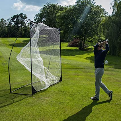 Amazon Com Quickplay Quick Hit Ultra Portable Golf Practice Hitting Net Sports Outdoors