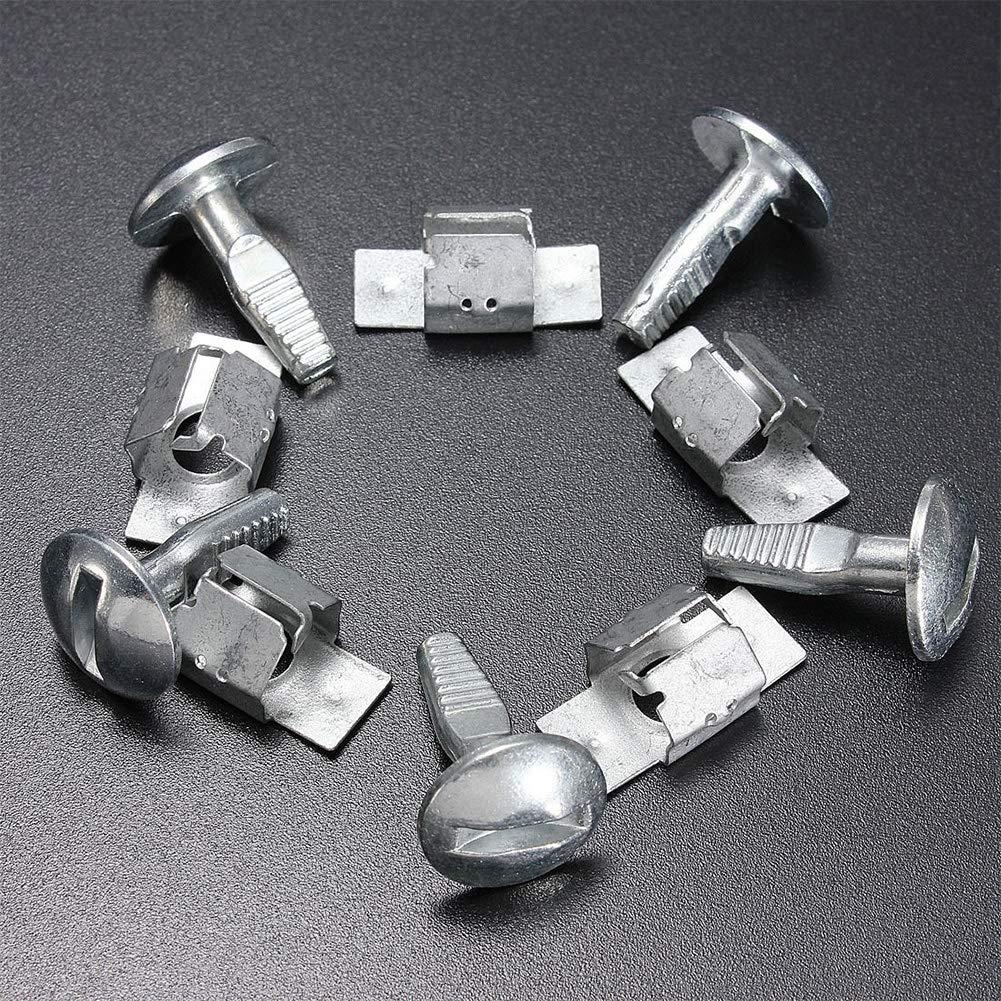 VerneAnn 5 Paar Clips Schutz Schrauben Autozubeh/ör F/ür Peugeot F/ür Citroen