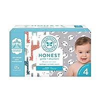 The Honest Company Super Club Box Diapers with TrueAbsorb Technology, Pandas & Safari...