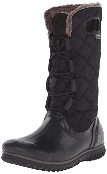 Juno Lace Up Women US 6 Gray Winter Boot