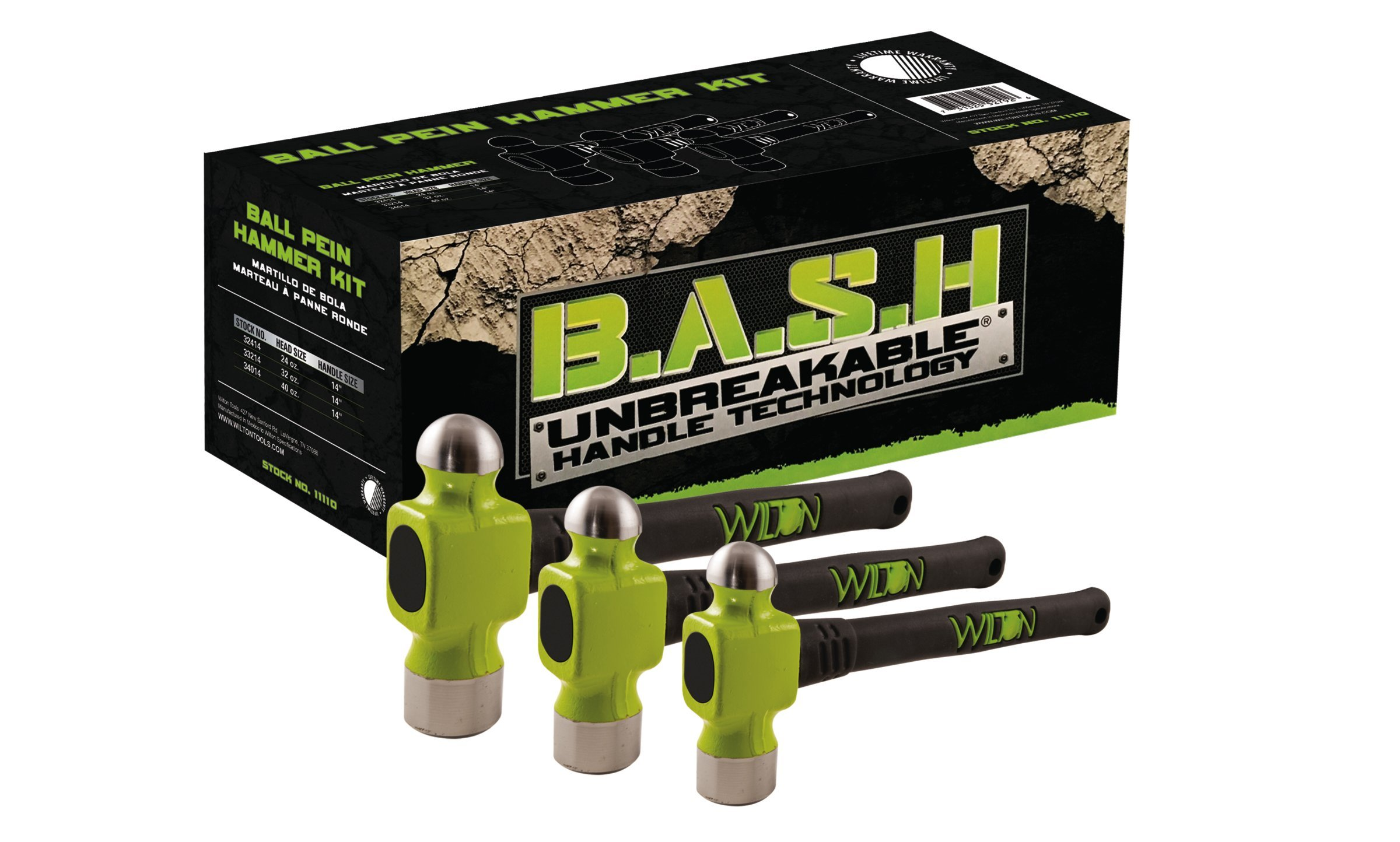 Wilton 11110 B.A.S.H Ball Pein Hammer Kit by Wilton