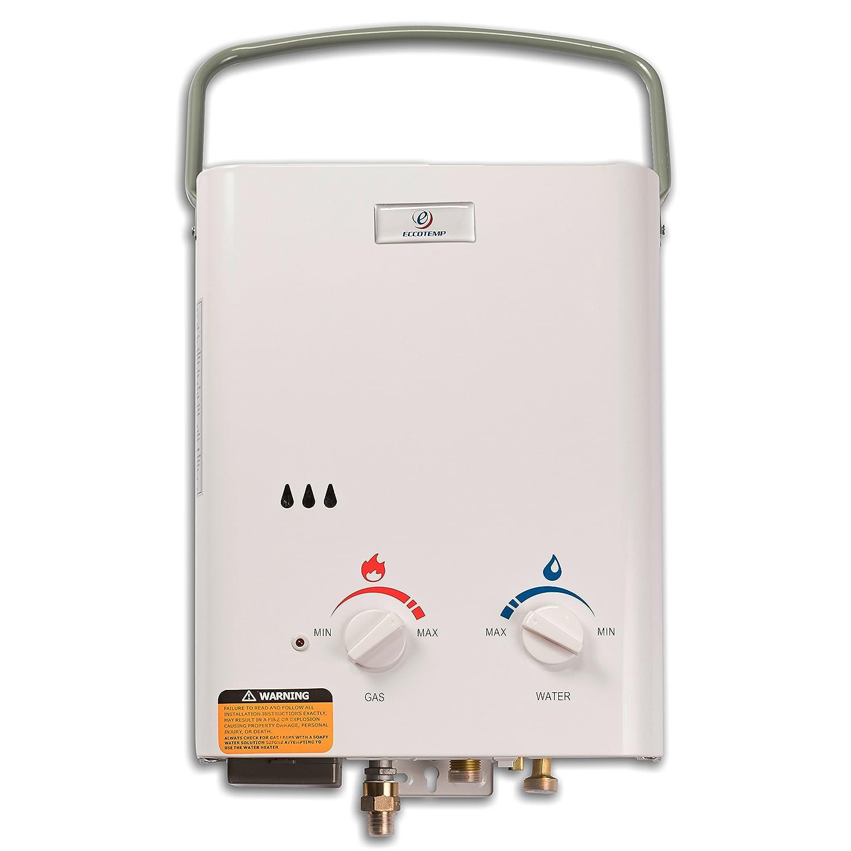 Amazon.com: Calentador de agua portable sin tanque de 1.5 ...
