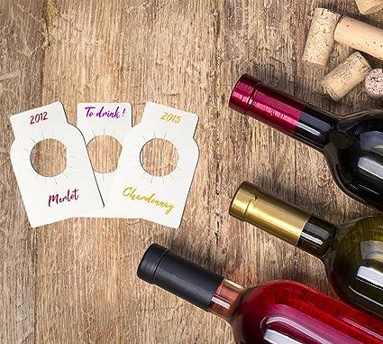 Home Vírgenes Optimal Cuello De Etiquetas Para Vino Botella BeordCx