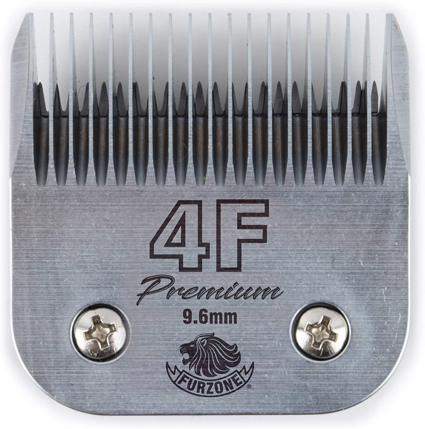 Furzone Professional A5 Detachable Blade - Made of Extra Durable Japanese Steel, Fits Most Andis, Oster, Wahl A5 Clippers, Size 4F 3/8""