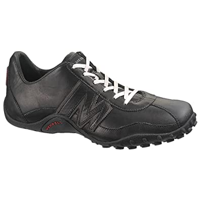 1d6aa3c314f3 Merrell Mens Sprint Blast 12 Black RED  Amazon.co.uk  Shoes   Bags