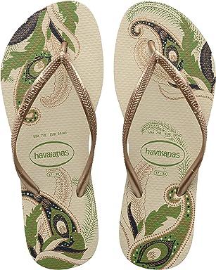 cec65a137d41 Havaianas Women s Slim Organic Flip Flop Sandals