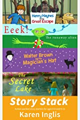 Story Stack: Action-packed story starters for ages 6-8 and 9-12 Kindle Edition