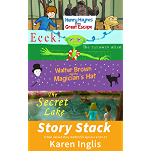 Story Stack: Action-packed story starters for ages 6-8 and 9-12