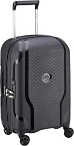 Delsey - Clavel 55cm Small 4 Wheel Hard Suitcase - Black