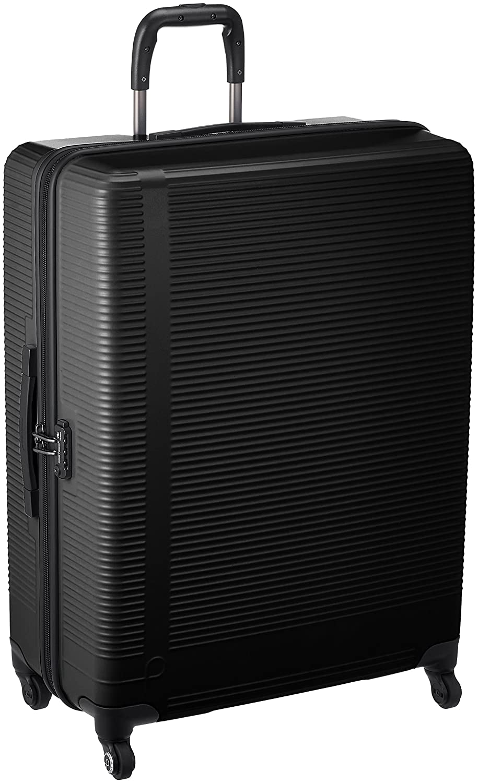 [プロテカ] スーツケース 日本製 ステップウォーカー サイレントキャスター保証付75cm 5.3kg 02894 B078X5CWLYブラック