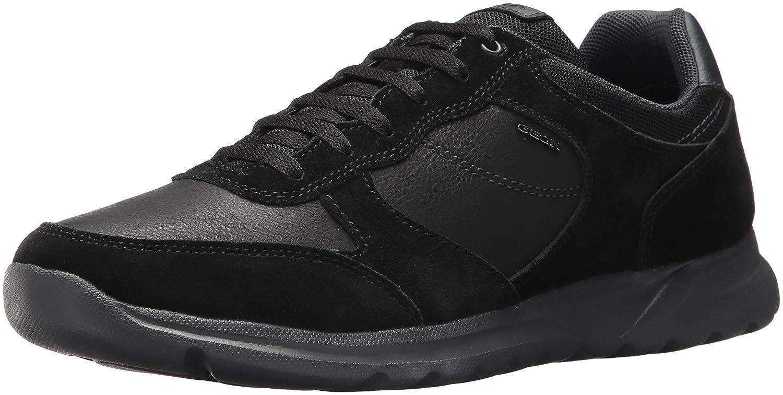 Geox Men's Damian 5 Fashion Sneaker, Taupe, 45 EU12 M US