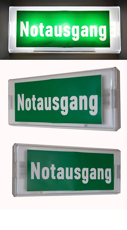 Not lá mpara iluminació n de emergencia Exit salida de emergencia ext –  Luz de emergencia ext Exit IL, 220.00 voltsV