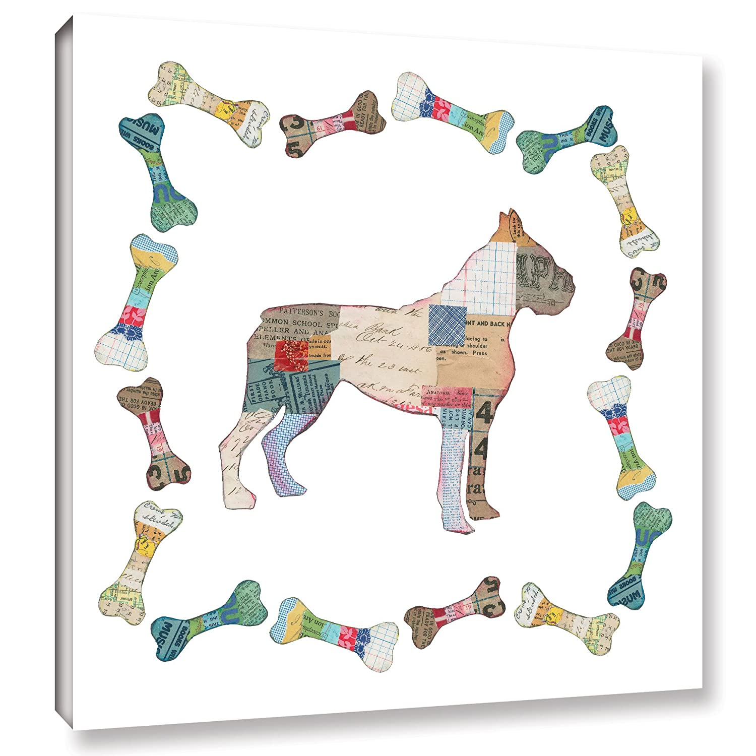 18X18\ Tremont Hill Good Dog I Sq with Border, 18X18