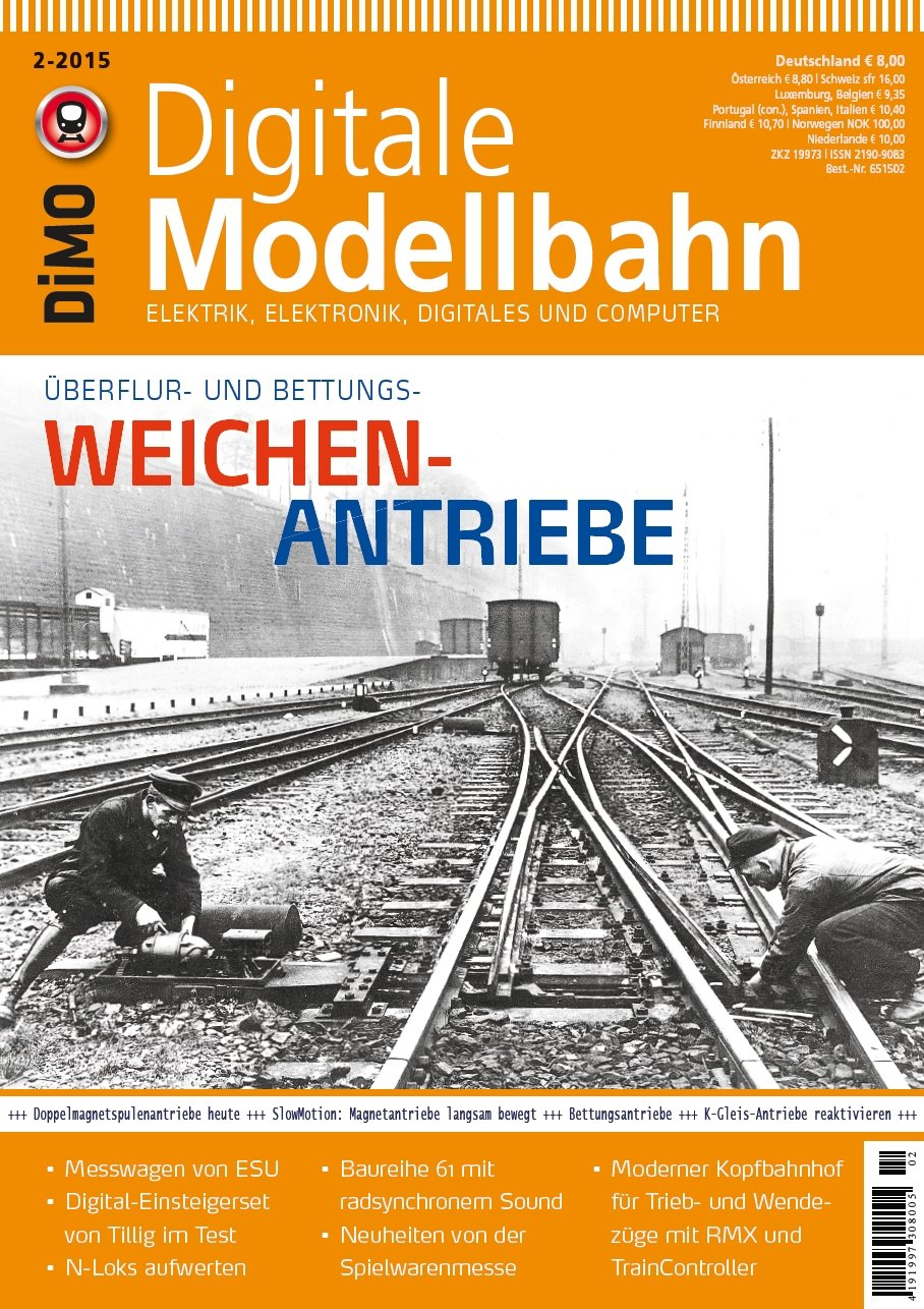 Digitale Modellbahn 19 - Weichen-Antriebe - Elektrik, Elektronik ...