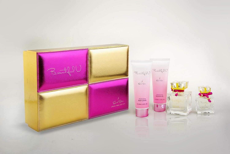 Amazon.com : BEAUTIFUL U Esme Rene Women Gift Set Eau de Perfume ...