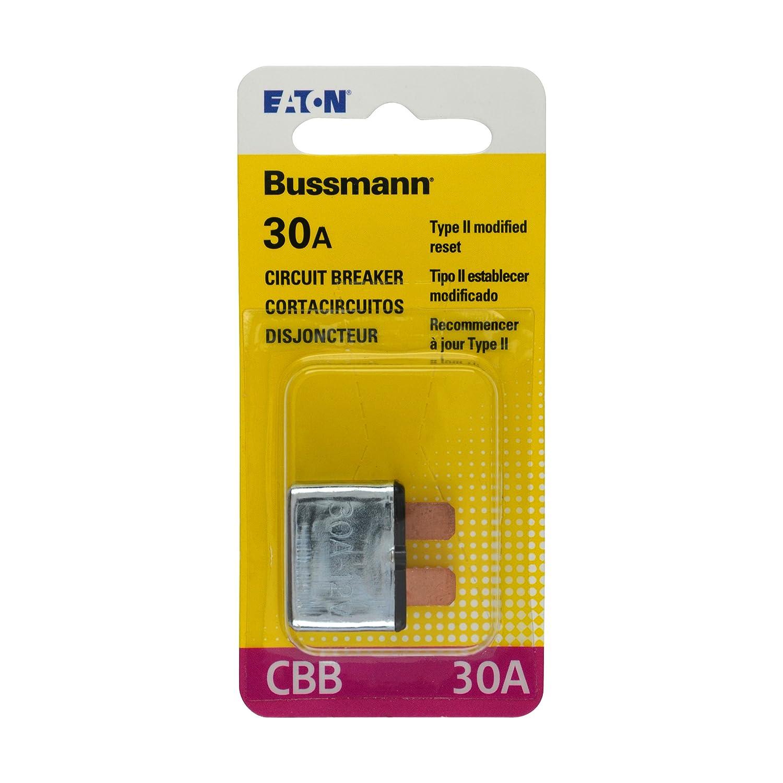30 Amp Type-II ATC Blade Circuit Breaker Bussmann BP//CBB-30-RP