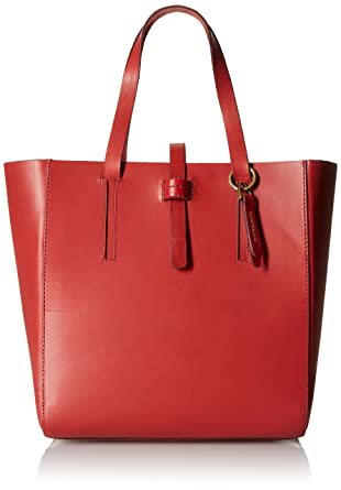Amazon.com: Lucky Brand Dylan Tote Bag, Ruby Red, One Size: Clothing