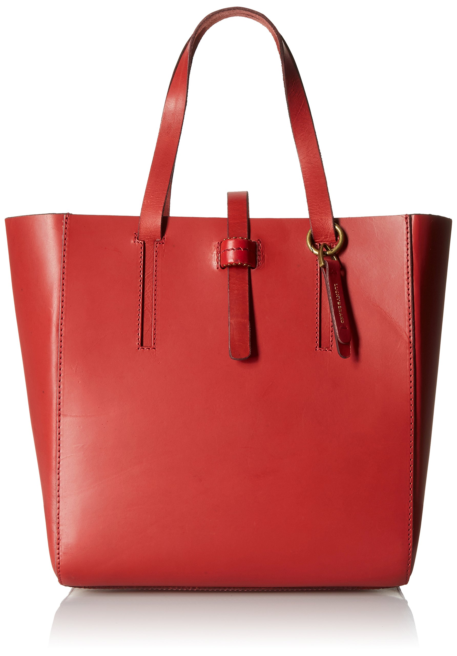 Lucky Brand Dylan Tote Bag, Ruby Red, One Size