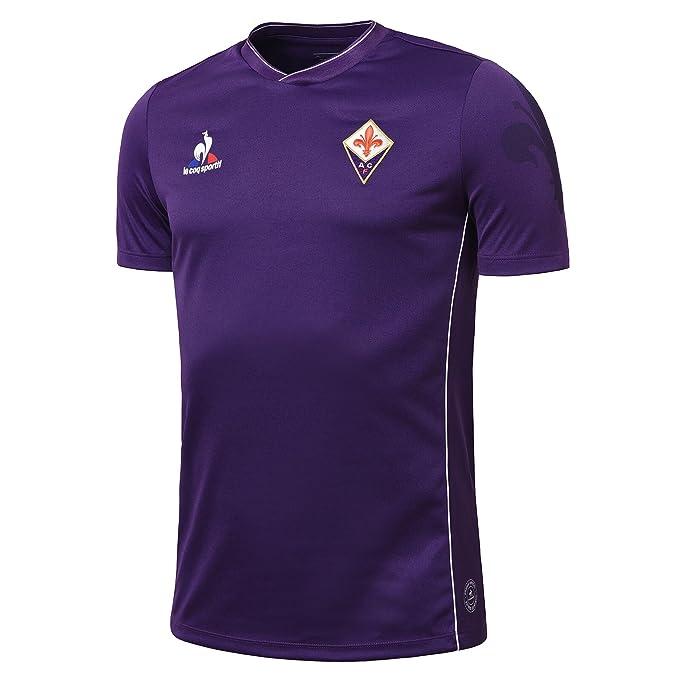 2b1afc7257cf2 Le Coq Sportif Replica Jersey SS Home Purple 15 16 Fiorentina  Amazon.es   Ropa y accesorios