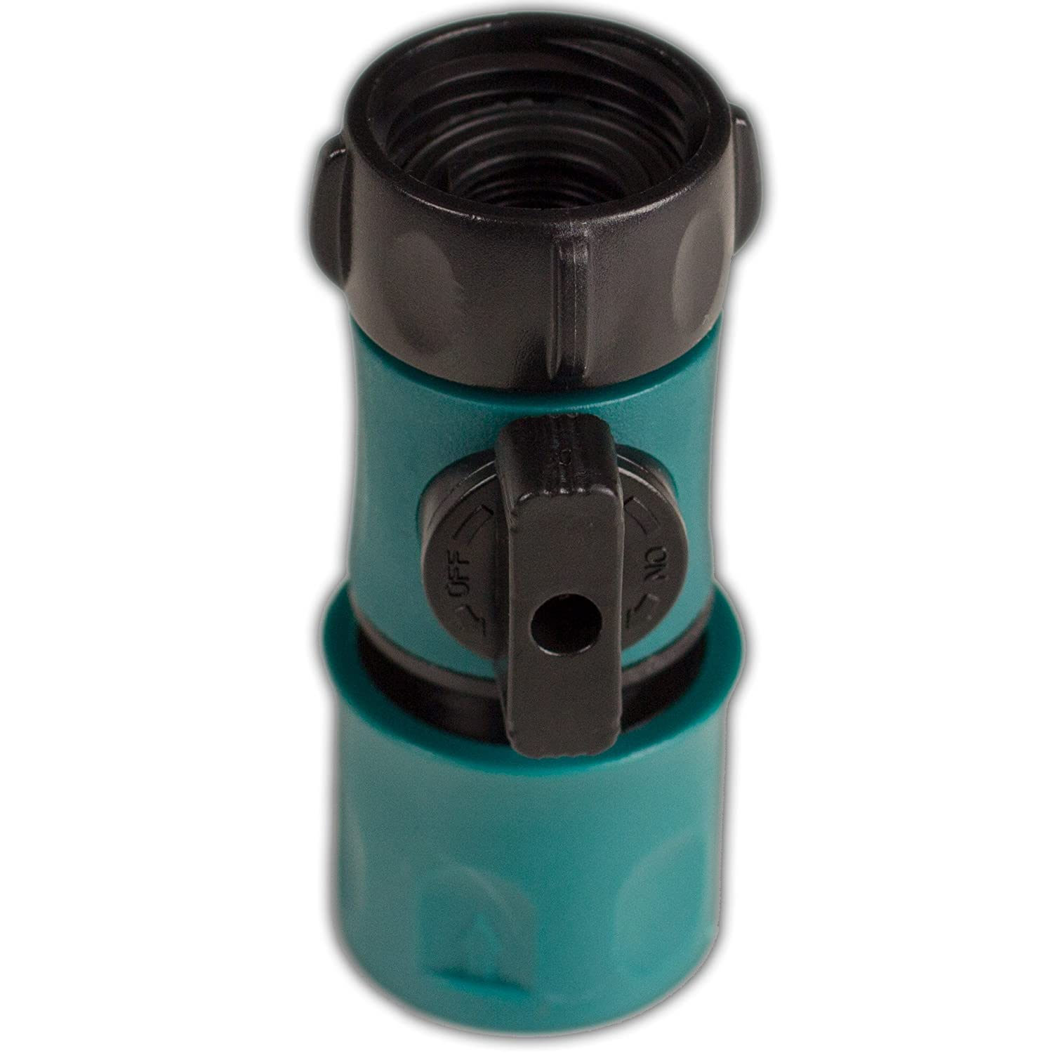 Oasis Ahead Garden Hose Water Shut Off Valve With Quick Connect