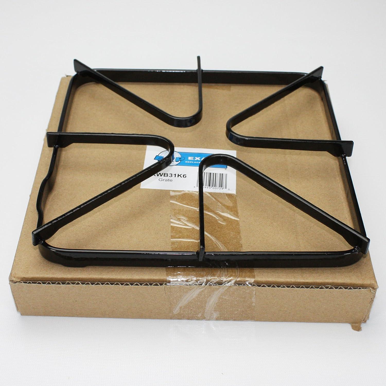 ERWB31K6 For WB31K6 Gas Burner Grate Smaller Bumper Than Original