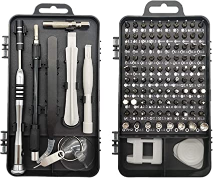 Juego Destornilladores Precisión, Faireach Kit de Herramientas de Reparación Profesional 110 en 1 con Estuche, Kit Destornilladores Electricista: Amazon.es: Bricolaje y herramientas