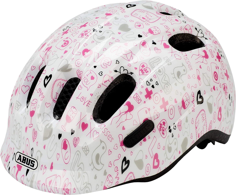 ABUS Smiley 2.1 Casco de Bicicleta, Blanco, Small: Amazon.es ...