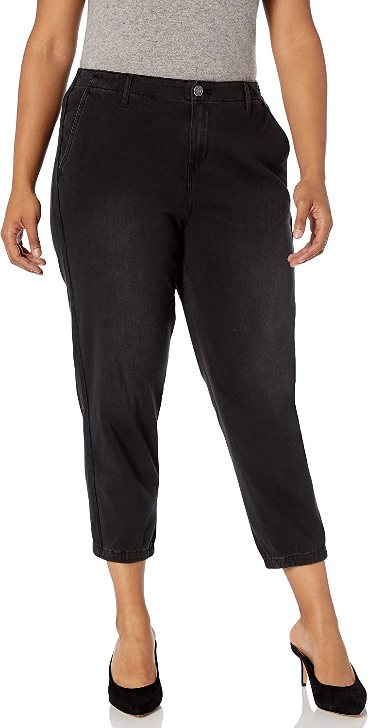 Skinnygirl Women's Plus Size The Utility Jogger