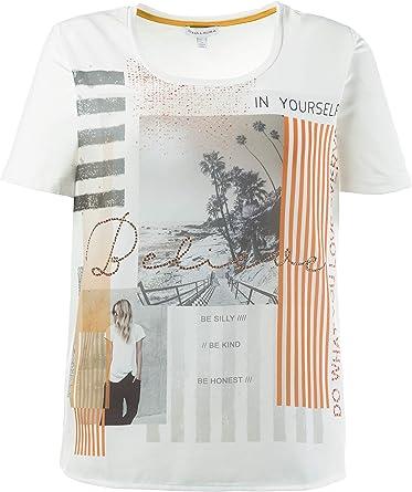 GINA_LAURA - Camiseta - para mujer Mango XXX-Large: Amazon.es ...