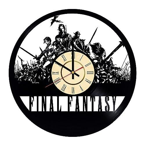 Amazon Com Final Fantasy Clock Sephiroth Decor Gamer Wall
