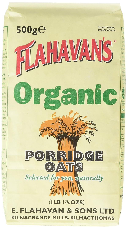 Flahavan'S Org Porridge Oats 500 g (Pack of 12) 65440