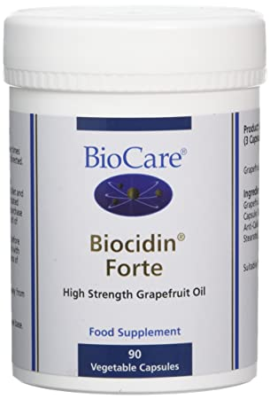 Biocare Biocidin Forte Vegetable - Pack of 90 Capsules