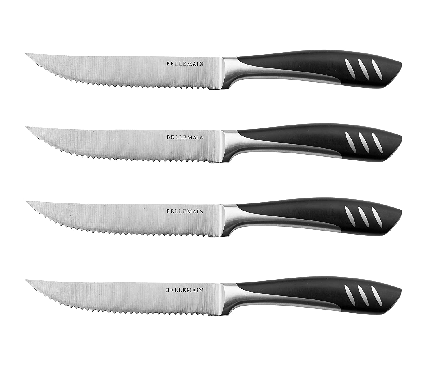 Bellemain Premium Steak Knife Set of 4 Stainless Steel Review